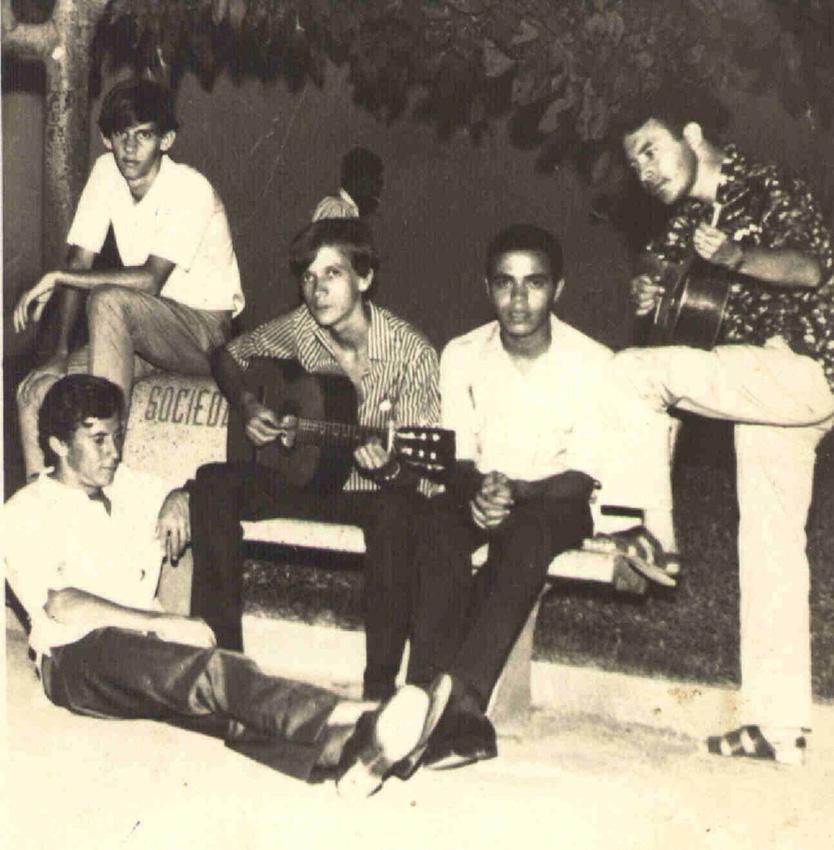 Álvaro Nogueira, Dé Vieira, Virgílio Oliveira, Cláudio do Chiquito e Sinval (Natal de 1971)
