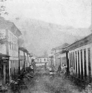 Rua Sete de Setembro (Fundão). Foot do s[ec. XIX de Dr. Manoel Basílio Furtado
